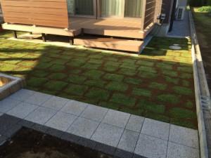 埼玉県東松山市も対応。芝生の管理、芝生のお手入れ、TM9専門店の株式会社ドリームガーデン 施工後